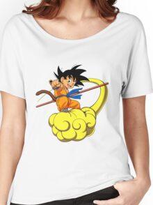 goku kakarot anime manga shirt Women's Relaxed Fit T-Shirt