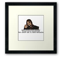 One Does Not Simply Framed Print