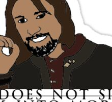One Does Not Simply Sticker
