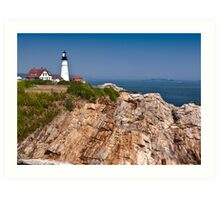 Maine Granite Art Print