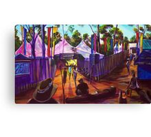 GYMPIE MUSTER - 25TH COLLECTION - MUSTER BAR Canvas Print
