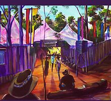 GYMPIE MUSTER - 25TH COLLECTION - MUSTER BAR by tola