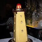 chocolate lighthouse by Sandy Sparks
