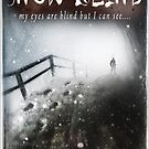 Snow Blind Book Cover by Rob Shillito Raw:Images