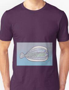 Funny Flat Fish T-Shirt