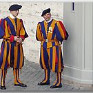 Greetings from the Med / The Swiss Guards by John44