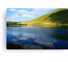 welsh reservoir Canvas Print