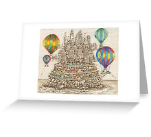 Time To Be Carried Away Greeting Card