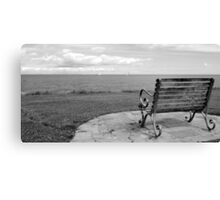 Skerries Bench II Canvas Print