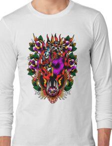 In Devil We Trust Long Sleeve T-Shirt