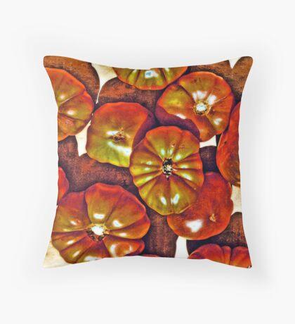 Delicious Tomatoes! Throw Pillow
