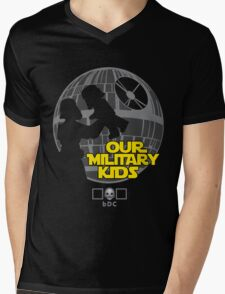 Our Military Kids Mens V-Neck T-Shirt