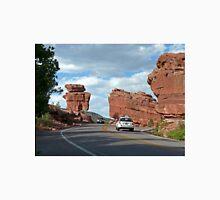 Balanced and Steamboat Rocks, Colorado, USA Unisex T-Shirt