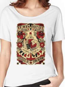 Informative Signs - Drunks don't get tattooed Women's Relaxed Fit T-Shirt