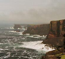 Sea Mist at Esha Ness by WatscapePhoto