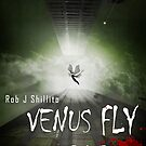 Venus Fly Trap - book cover by Rob Shillito Raw:Images