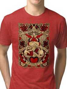 Informative Signs - Just Cash Payments Tri-blend T-Shirt