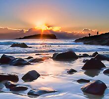 As the Sun Rises - Fingal Head NSW by RhondaR