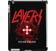 Layers - Design In Blood iPad Case/Skin