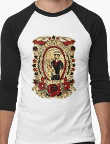 Informative Signs - Leave your kids at home Men's Baseball ¾ T-Shirt