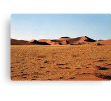 Sculptural Dunes, Namibia Canvas Print