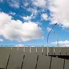 Car-park with Clouds by sedge808