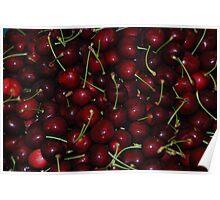 Ontario cherrys fresh picked  Poster