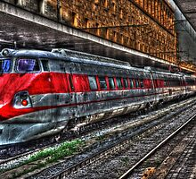 The station getting old  by Tarek Solh