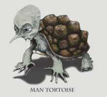 Man Tortoise by Chris Harrendence
