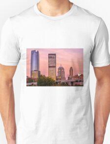 Oklahoma City Downtown Skyline at sunrise T-Shirt