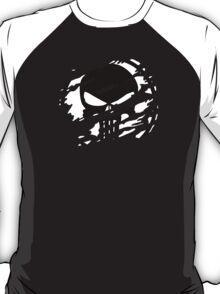 Punisher Torn Design  T-Shirt