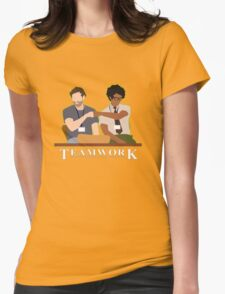 IT Crowd Teamwork Womens Fitted T-Shirt