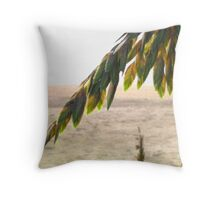 Tropical Colors and Warm Wishes Throw Pillow