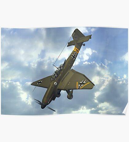 Junkers Ju 87 Stuka Poster