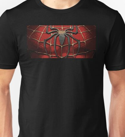 Spider Man Chest Plate Unisex T-Shirt