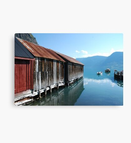 The Sognefjord II Canvas Print