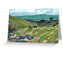 Black Mountains Greeting Card