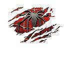 Spider-Man Torn Design by riskeybr