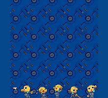 Megaman Legends - Servebots by Broseidon13