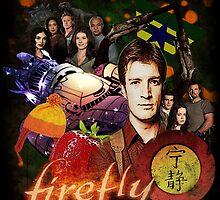 Firefly Cast Collage by Gwright313