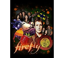 Firefly Cast Collage Photographic Print