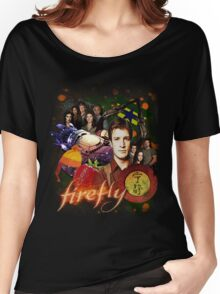 Firefly Cast Collage Women's Relaxed Fit T-Shirt