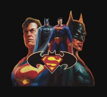 Batman and Superman by Gondes