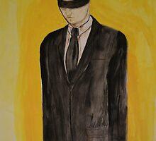 Black blind fold  by Augustus Firestone