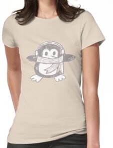 Penguin (Full size) Womens Fitted T-Shirt