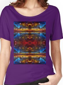 Arthur's Sundown Fireworks Women's Relaxed Fit T-Shirt