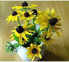 Bouquet of Black-Eyed Susans Photographic Print