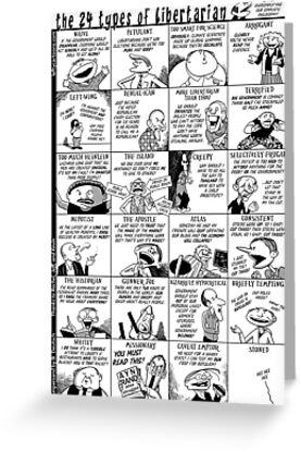 The 24 Types of Libertarian by Barry Deutsch
