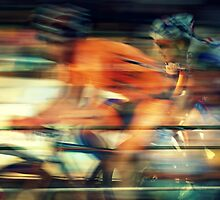 A Great Day For The Race by Ben Loveday