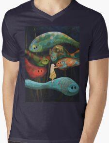 My Fascinating Friends Mens V-Neck T-Shirt